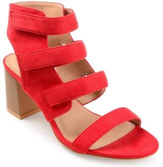 Journee Collection Perkin Block Heel Sandal