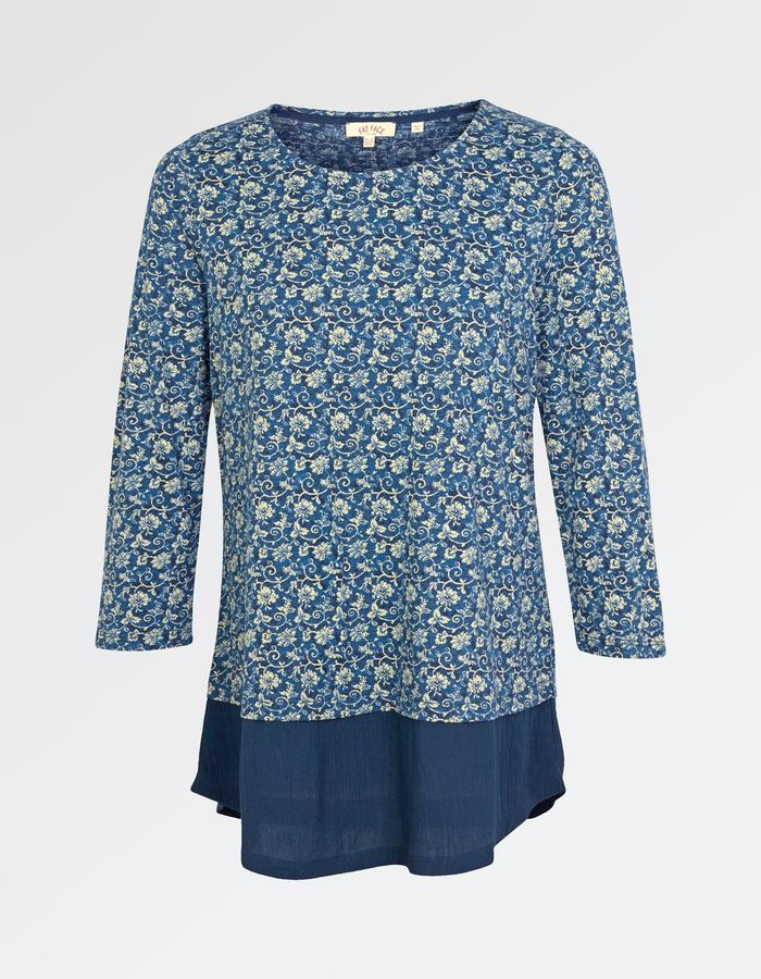 Fat Face Maya Jacquard Floral Top