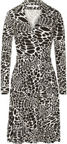 Diane von Furstenberg Feleo printed stretch-jersey wrap dress
