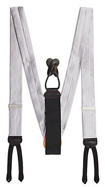 Trafalgar Men's Formal Herringbone Silk Brace