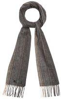 J By Jasper Conran Grey Stripe Woven Scarf