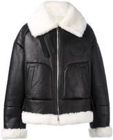 Juun.J shearling bomber jacket - men - Sheep Skin/Shearling - 44