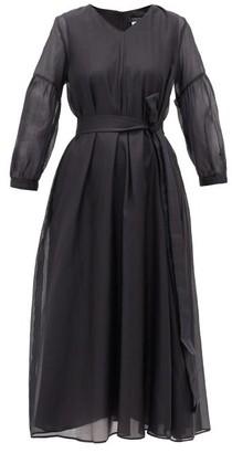 Max Mara S Rive Dress - Womens - Black