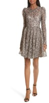 Milly Women's Aria Lace Fit & Flare Dress