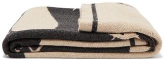 Saved Ny - Serpent's Apple Cashmere Blanket - Brown Multi
