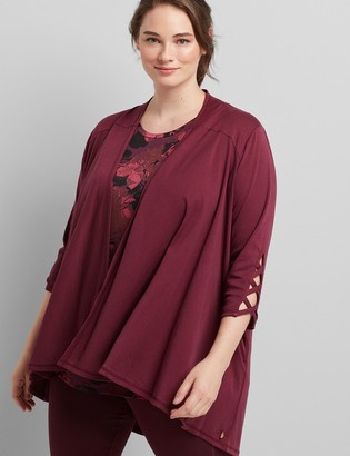 Lane Bryant LIVI Open-Front Overpiece