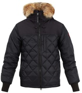 Canada Goose Pritchard fur-trimmed down coat