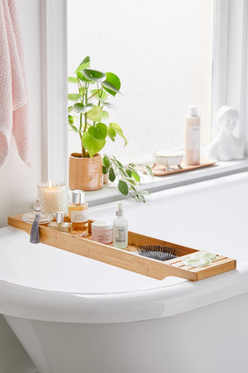 Urban Outfitters Bamboo Bath Tray Caddy