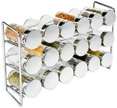 Container Store 18-Bottle Spice Rack Chrome