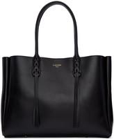 Lanvin Black Leather Small Shopper Bag