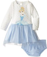 Disney Baby-Girls Newborn 2 Piece Cinderella Dress Set