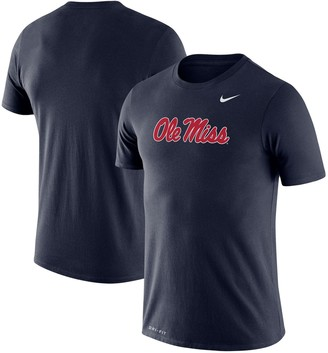 Nike Men's Navy Ole Miss Rebels Big & Tall Legend Primary Logo Performance T-Shirt