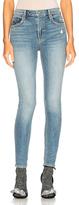 GRLFRND Kendall Super Stretch High Rise Skinny Jean in Blue.