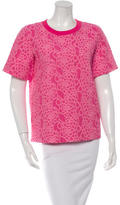 Kate Spade Floral Print Textured Top