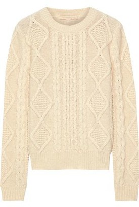 Vanessa Bruno Jeremy Cable-knit Alpaca-blend Sweater