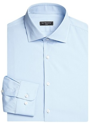 Saks Fifth Avenue MODERN Basic Stretch Button-Down Dress Shirt