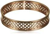 Dyrberg/Kern Rose Gold Bangle Bracelet 6.5 cm