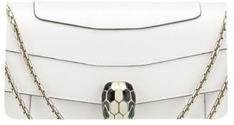 Bvlgari Leather Serpenti Forever Shoulder Bag
