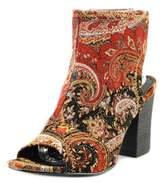 Diba Indie 193949 Women Open-toe Canvas Red Heels.