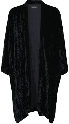 eskandar Scrunched-Up Velvet Jacket