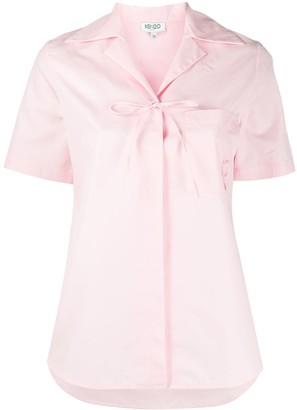 Kenzo Bow Detail Shirt