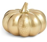 Levtex Goldtone Pumpkin Decoration