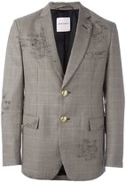 Palm Angels houndstooth pattern blazer - men - Cotton/Wool/viscose - 50
