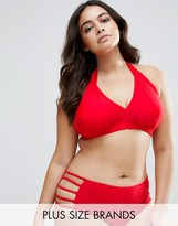 Junarose Halter Neck Bikini Top