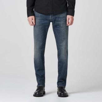 DSTLD Straight Jeans in Three Year Dark Blue