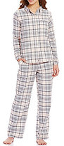 Sleep Sense Plaid Flannel Pajamas