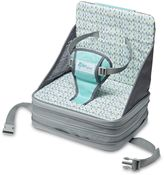 The First Years The First YearsTM On the Go Booster Seat in Grey/Aqua