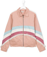 Stella McCartney Angie jacket - kids - Cotton/Spandex/Elastane - 14 yrs