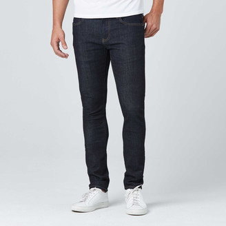 DSTLD Skinny Jeans in Dark Wash Resin - Timber Stitch