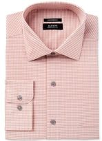 Alfani Men's Classic/Regular Fit Performance Stretch Easy Care Gingham Dress Shirt, Created for Macy's
