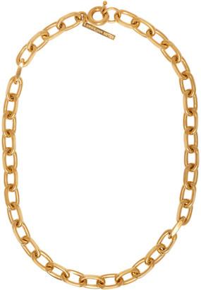 Dries Van Noten Gold Chain Necklace