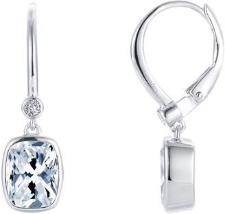 Lafonn Bezel-Set Drop Earrings