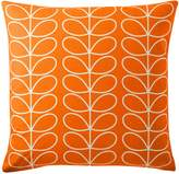 Orla Kiely Small Linear Stem Persimmon Cushion