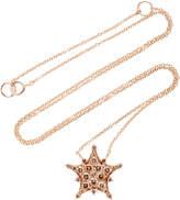 Nam Cho 18K Rose Gold Diamond Necklace