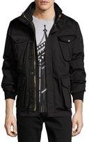 Burberry Sympson 3-in-1 Field Jacket, Black