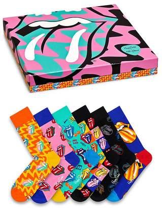 Happy Socks Rolling Stones Socks Gift Set - Box of 6
