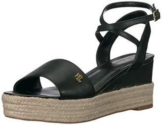 Lauren Ralph Lauren Women's Delores Espadrille Wedge Sandal