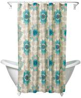 India Ink Zenna Home Number 9 Floral Fabric Shower Curtain