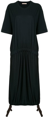 Marni Drawstring Hem Slouchy Dress