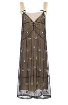 N°21 N21 Crystal Embellished Slip Dress