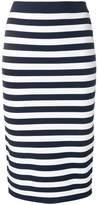 MICHAEL Michael Kors striped pencil skirt