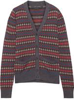 Marc Jacobs Wool-jacquard Cardigan