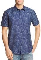 Rails Leaves Regular Fit Button-Down Shirt