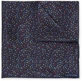 Lanvin - Patterned Silk Pocket Square