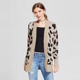 Mossimo Women's Pattern Cardigan Leopard