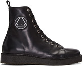 McQ by Alexander McQueen Black Chris High-top Sneakers